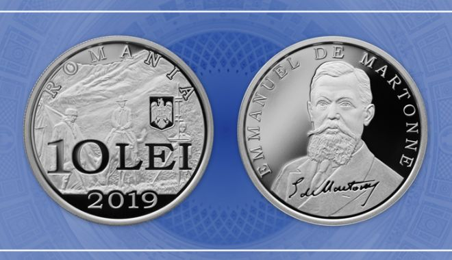 Foto: BNR lansează o nouă monedă din argint