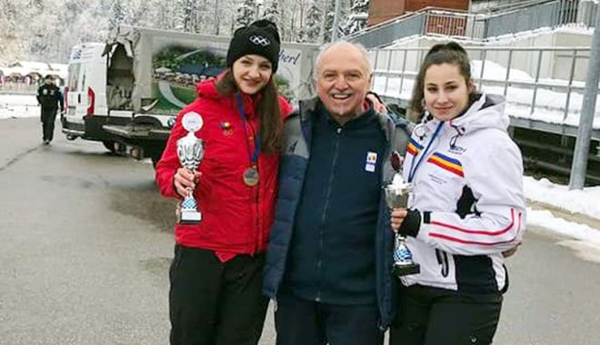 Foto: Andreea Grecu şi Teodora Vlad, medaliate cu bronz la Cupa Europei
