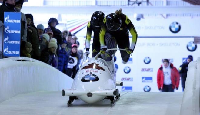 Foto: Pilot de bob! Andreea Grecu, la prima Cupă Mondială din carieră