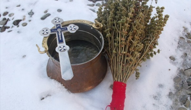 Foto: Pregătiri pentru Bobotează, la Constanţa