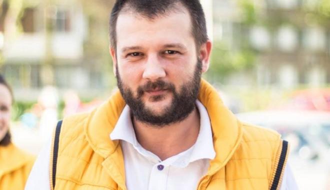 Foto: Bogdan Bola, preşedinte unic  al tinerilor liberali din Constanţa