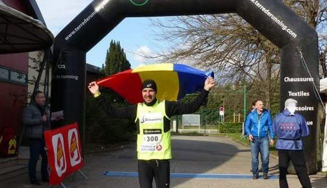 Foto: Bogdan Ofiţeru, confirmat în lotul României pentru Ultra-maratonul de 24 de ore