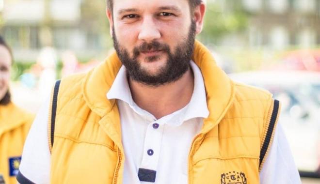 Foto: Bogdan Bola, noul lider interimar al PNL Hârşova