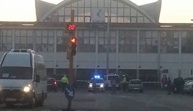 Foto: UPDATE / BOMBĂ ÎN GARA CFR CONSTANŢA! ÎNTREAGA ZONĂ A FOST EVACUATĂ!