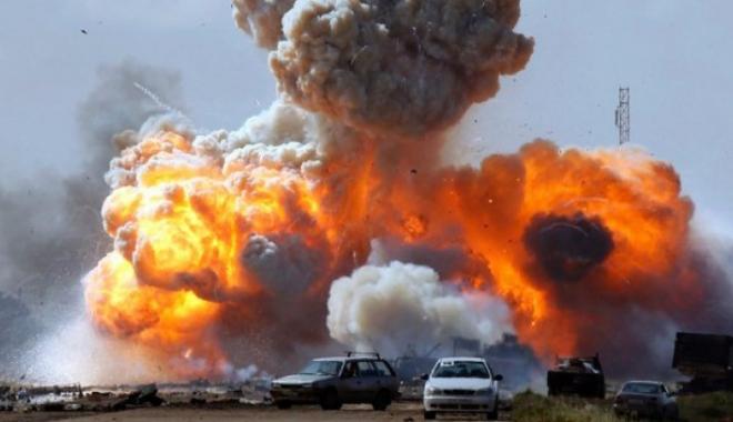 SUA, ATAC DEVASTATOR ÎN AFGANISTAN! AU LANSAT CEA MAI PUTERNICĂ BOMBĂ DIN ISTORIE / FOTO - VIDEO