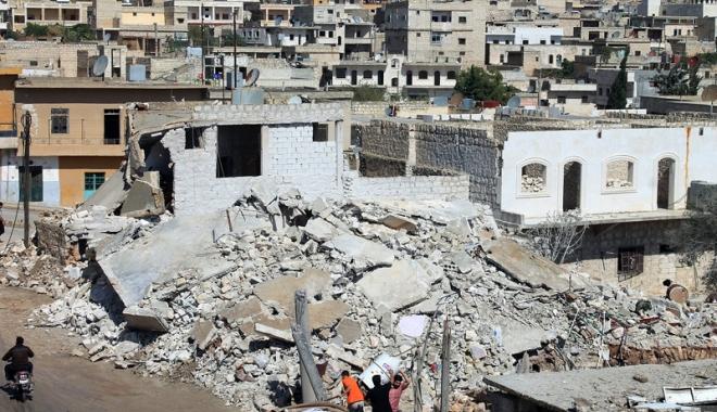 Foto: Efectele războiului din Siria. Şapte spitale scoase din funcţiune în 30 de zile