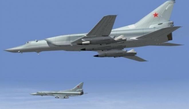 Foto: Bombardiere ruseşti, interceptate de SUA aproape de Alaska