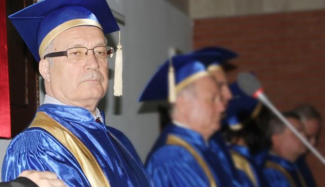 Foto: Profesorul Ion Bordeianu rămâne rector interimar la Universitatea Ovidius