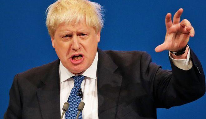 """Foto: Boris Johnson afirmă că va refuza să achite """"factura de divorţ"""" de UE"""