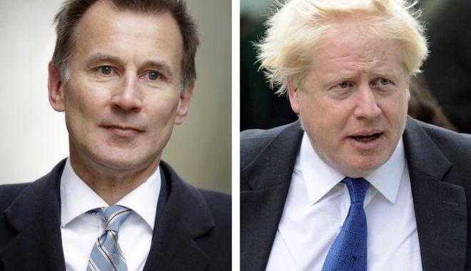 Boris Johnson şi Jeremy Hunt, finalişti în cursa pentru succesiunea Theresei May - boris-1561154978.jpg