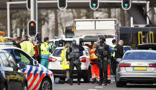 Foto: Bărbatul suspectat în atacul din Utrecht avea intenţii teroriste
