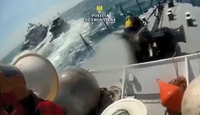 Foto: VIDEO EXPLOZIV / Momentul în care poliţiştii de frontieră ÎI ÎMPUŞCĂ pe braconierii turci