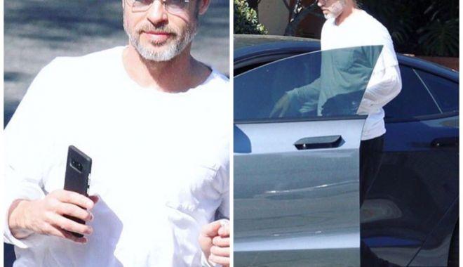 Foto: Brad Pitt, implicat într-un accident de maşină