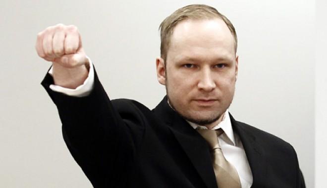 Norvegia: Breivik, 21 de ani de închisoare