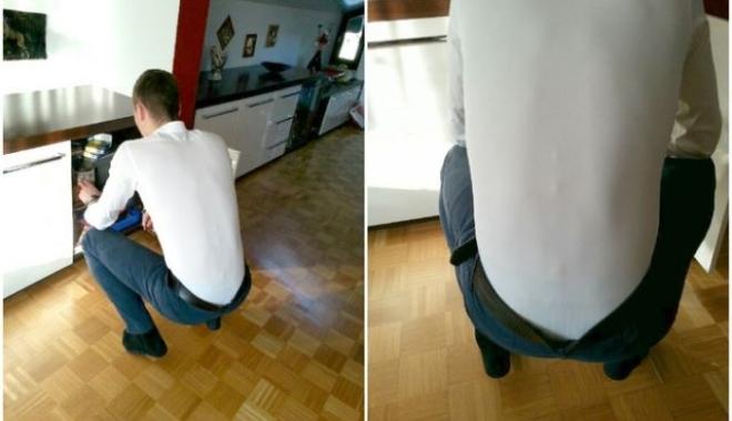 Foto: VIDEO / A fost inventată cămaşa care nu mai iese din pantaloni