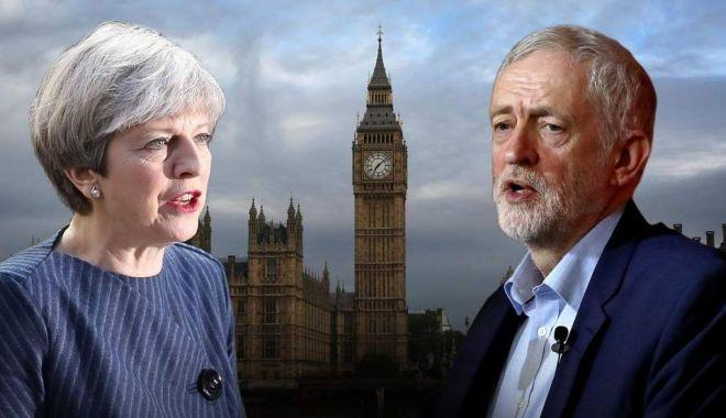 Foto: Brexit. Premierul Theresa May propune o nouă amânare şi întinde mâna laburiştilor