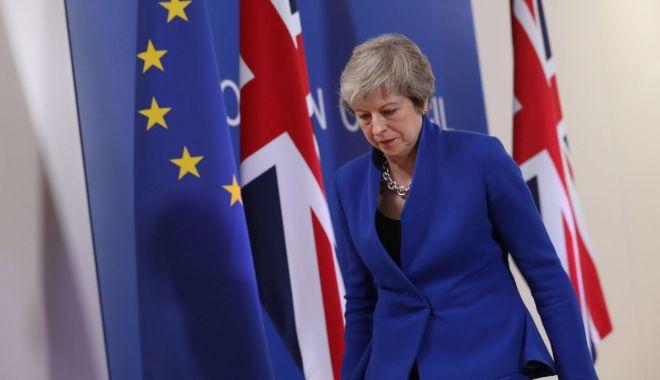 Foto: Brexit: Premierul britanic Theresa May a solicitat amânarea Brexitului