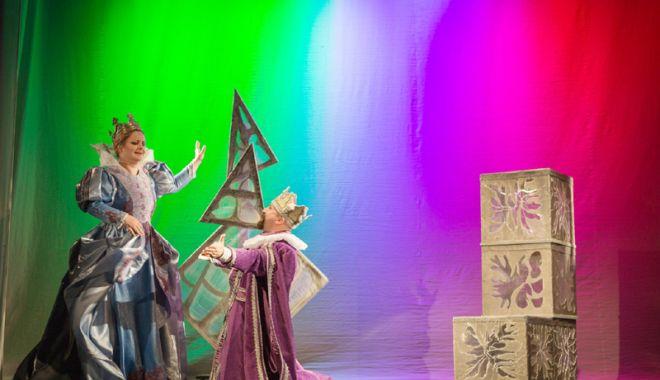 """Foto: Invitaţie  la teatru:  """"Prinţesa  şi broscoiul"""""""