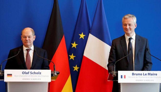 Foto: Buget separat pentru zona euro:  Franţa şi Germania insistă, Olanda - sceptică