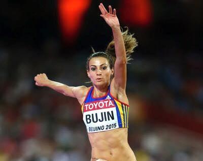 Foto: Atletism: Cristina Bujin, printre cei mai buni atleţi ai anului 2015