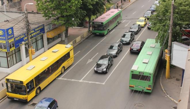 Foto: B-dul Ferdinand, străzile Traian şi  Mihai Viteazu, sensuri unice. Se schimbă sistematizarea rutieră în Constanţa