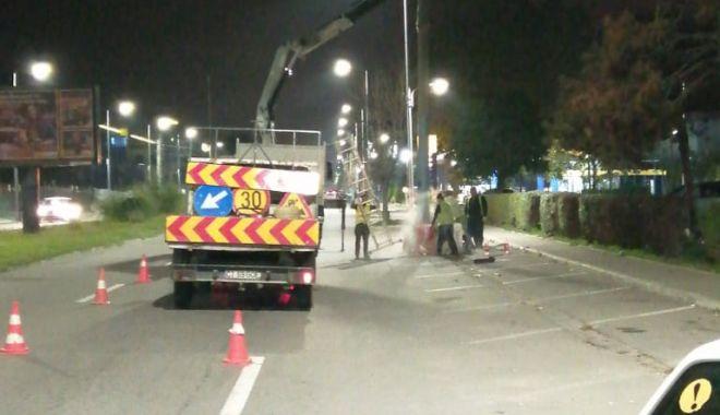 Foto: Fără stâlpi de beton pe Bulevardul Mamaia!
