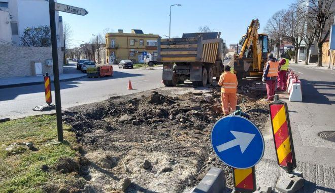 Foto: Atenție, șoferi! Apar modificări în traficul rutier de pe bulevardul Mamaia