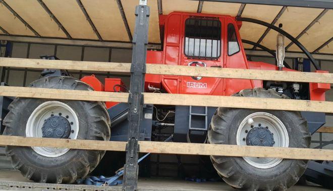 Bulgar prins cu un tractor furat, la intrarea în România - bulgarprins-1552942800.jpg