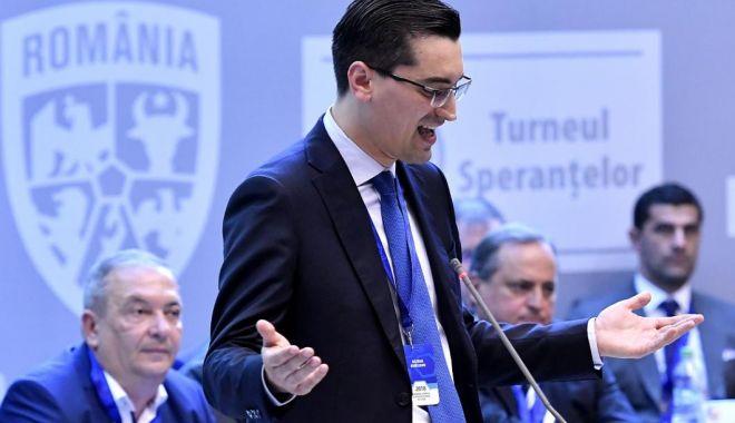 Foto: Răzvan Burleanu asigură că suntem în grafic pentru Euro 2020