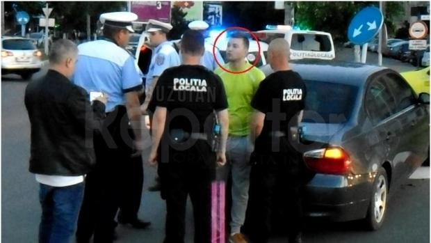 Foto: Fiu de general, BEAT şi FĂRĂ PERMIS, a făcut accident. Tânărul este pilot de avion