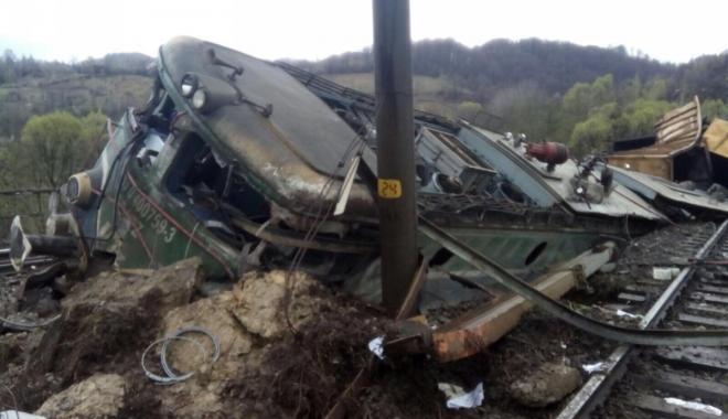 Foto: ACCIDENT FEROVIAR / Mecanicii care au murit erau băuţi