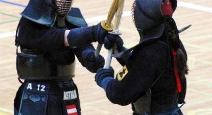 Foto: Kendo, sportul celor puternici