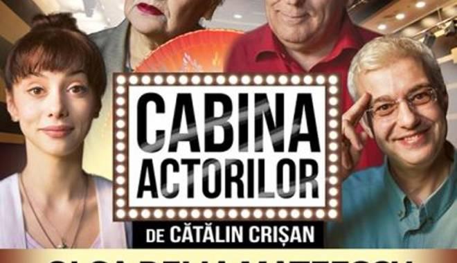 """Foto: Invitaţie în """"Cabina actorilor"""", dar pe scena Casei de Cultură"""
