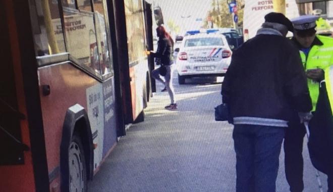 Foto: Călătorii frauduloşi, luaţi în colimator de Poliţia Locală