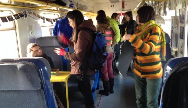 Foto: O treime din pasagerii de pe trenuri circulă fără bilet