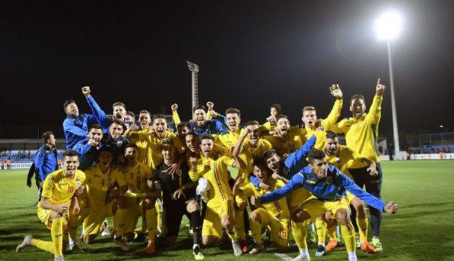 Foto: Calcule peste calcule! Naţionala de tineret, cu un pas la EURO 2019