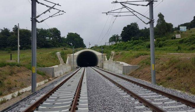 Foto: Noi tronsoane de cale ferată modernizată