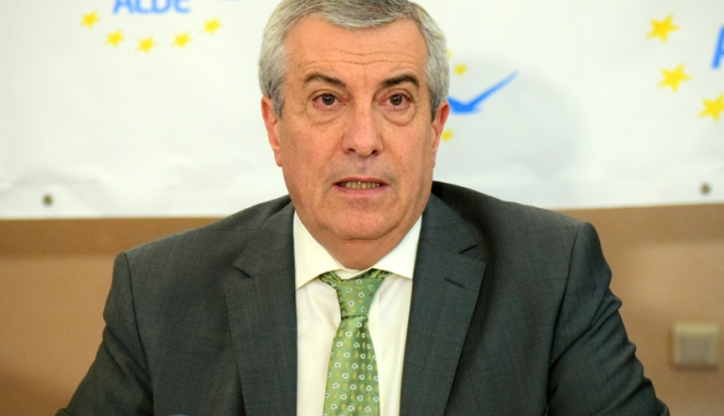 Foto: Călin Popescu Tăriceanu, ales preşedinte ALDE