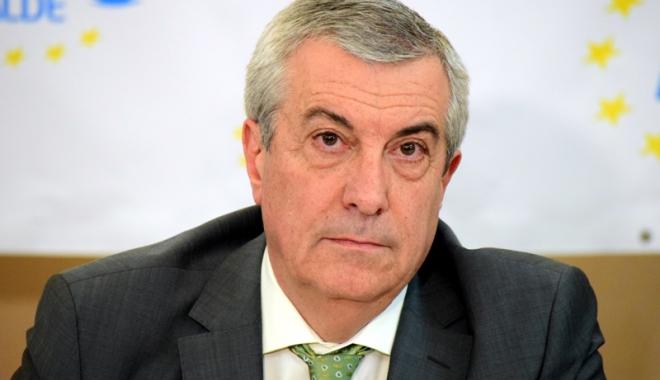 Foto: Tăriceanu: Suspendarea preşedintelui Iohannis nu se află pe agenda Coaliţiei