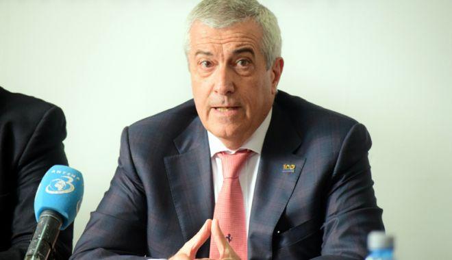 Foto: Tăriceanu, supărat pe Iohannis: Am luat decizia de a nu participa la Ziua Europei, la Cotroceni
