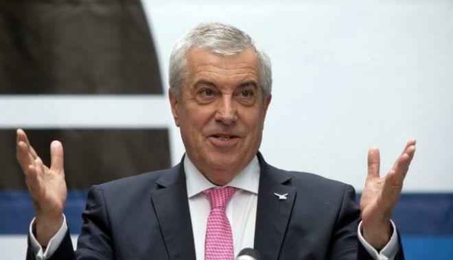 Foto: Călin Popescu Tăriceanu: Pentru referendum nu am votat
