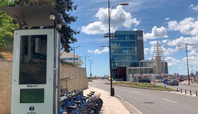 Foto: Constanța, supravegheată prin 58 de noi camere video