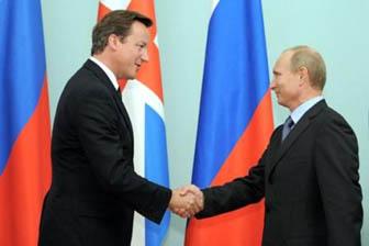 Foto: Premierul britanic l-a pus pe lista neagră pe Putin