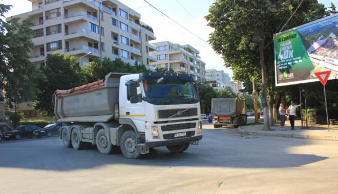 Foto: Cum poluează șantierele de construcții aerul din Constanța