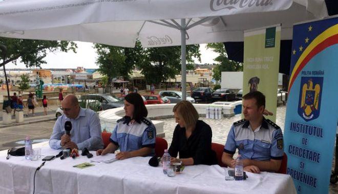 """Foto: """"Paza bună trece primejdia rea!"""" Campanie a Poliţiei Române de prevenire a furturilor"""