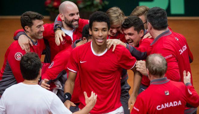 Canada s-a calificat în sferturile de finală ale Cupei Davis - canada-1574243876.jpg