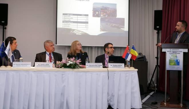 Foto: Canalul Dunăre - Marea Neagră s-a întâlnit cu partenerii sârbi