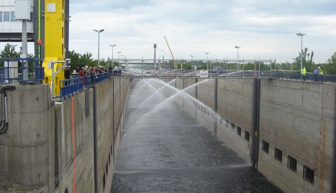 Foto: Canalul Dunăre – Marea Neagră a fost sărbătorit la împlinirea a 35 de ani de la intrarea în exploatare
