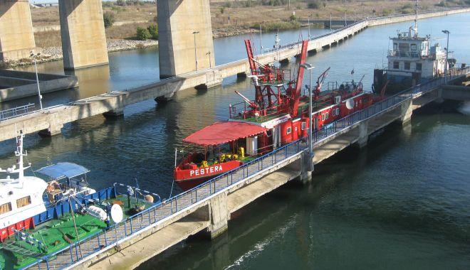 Foto: Canalul Dunăre - Marea Neagră împlinește 35 de ani
