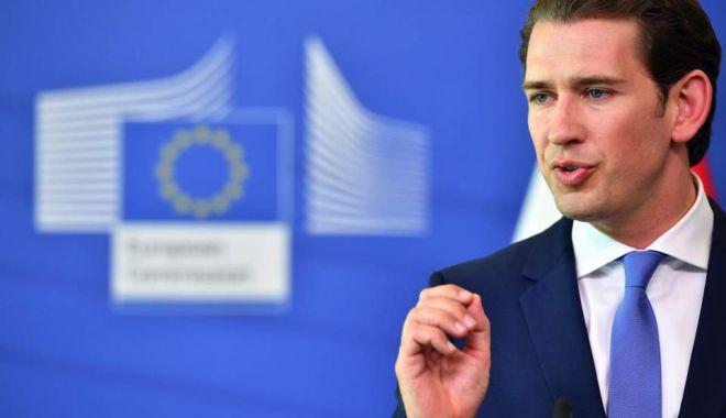 Foto: Cancelarul austriac cere eliminarea  a 1.000  de reglementări UE